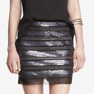 Express Sequin NWOT Mini Skirt
